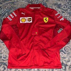 New Puma x Ferrari Team Jacket